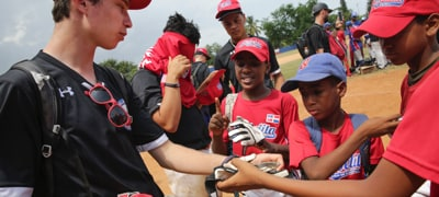 Global Baseball Adventures Camp - Give Card
