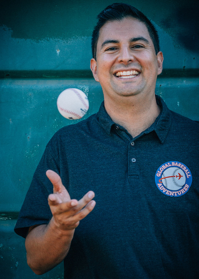 Isaias Franco - Founder of Global Baseball Adventures