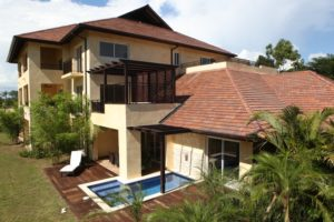 The Casa Del Lago luxury condominium.