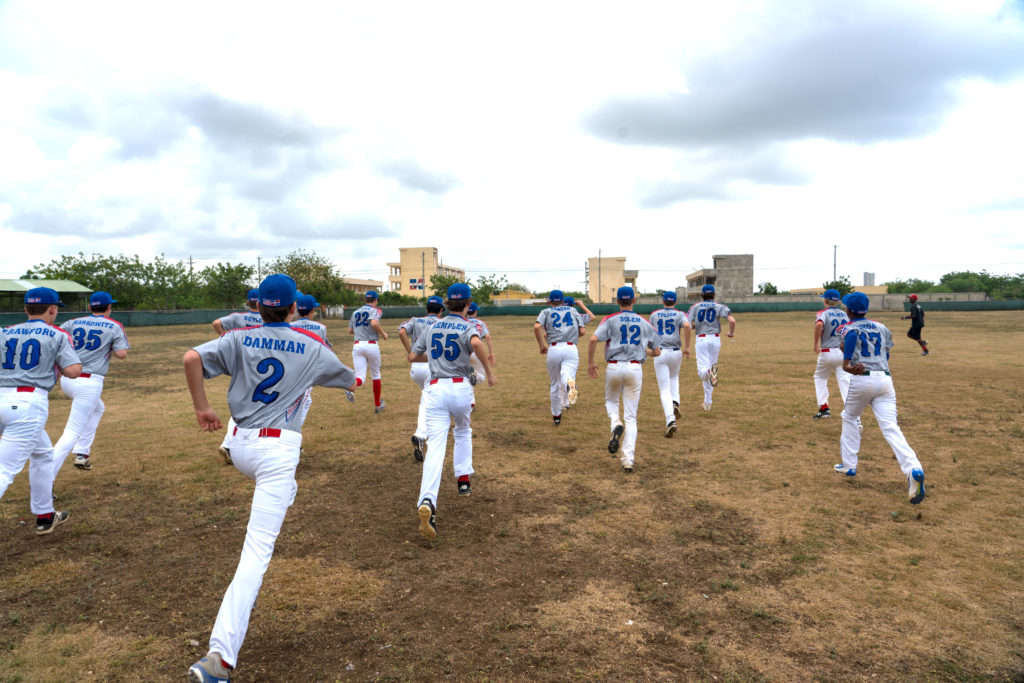 Dominican Republic Baseball Workout