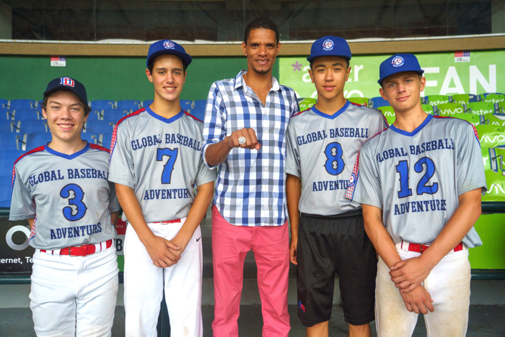 Dominican Republic Baseball Community Service Youth