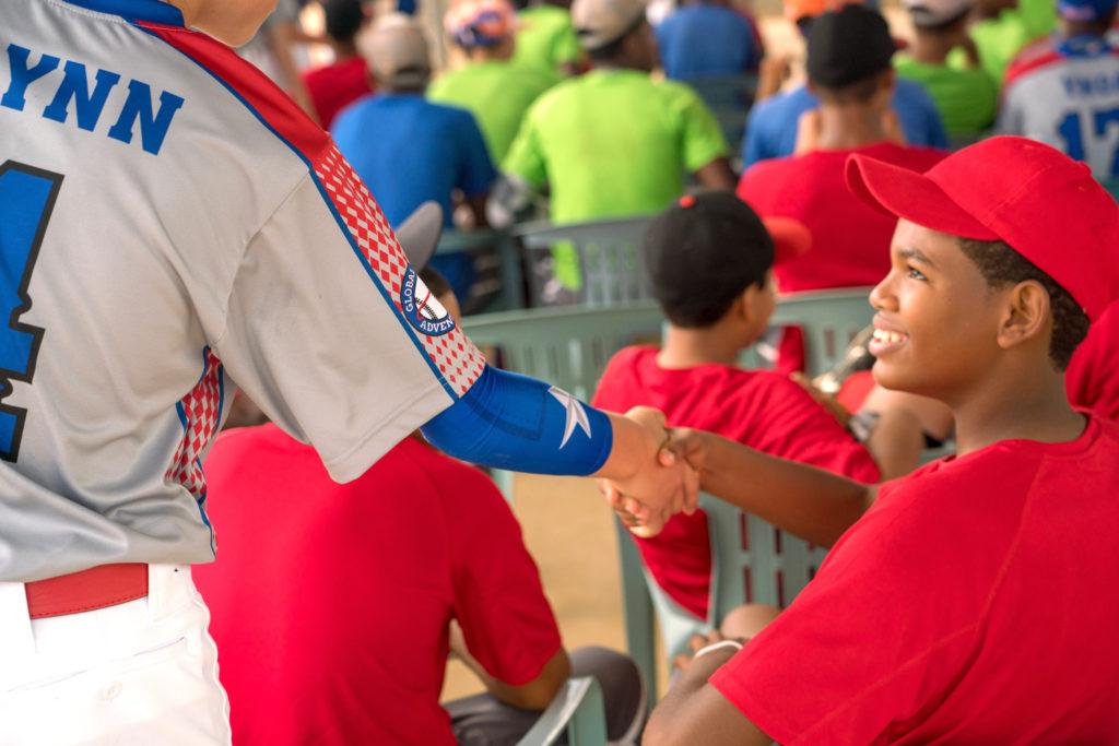 Dominican Republic Baseball Welcome