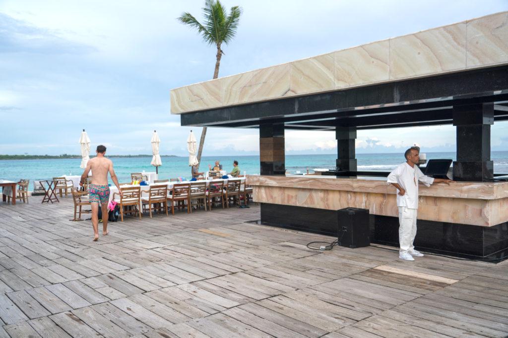 Boca Marina: Sea side Caribbean Dining