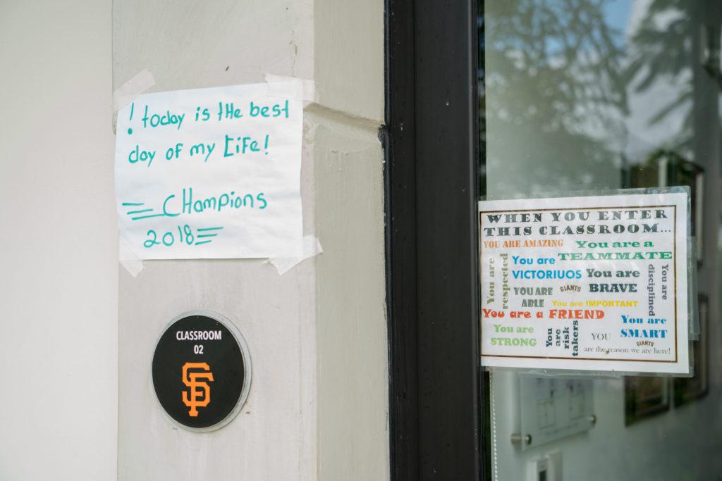 San Francisco Giants Academy Classroom Dominican Republic Baseball