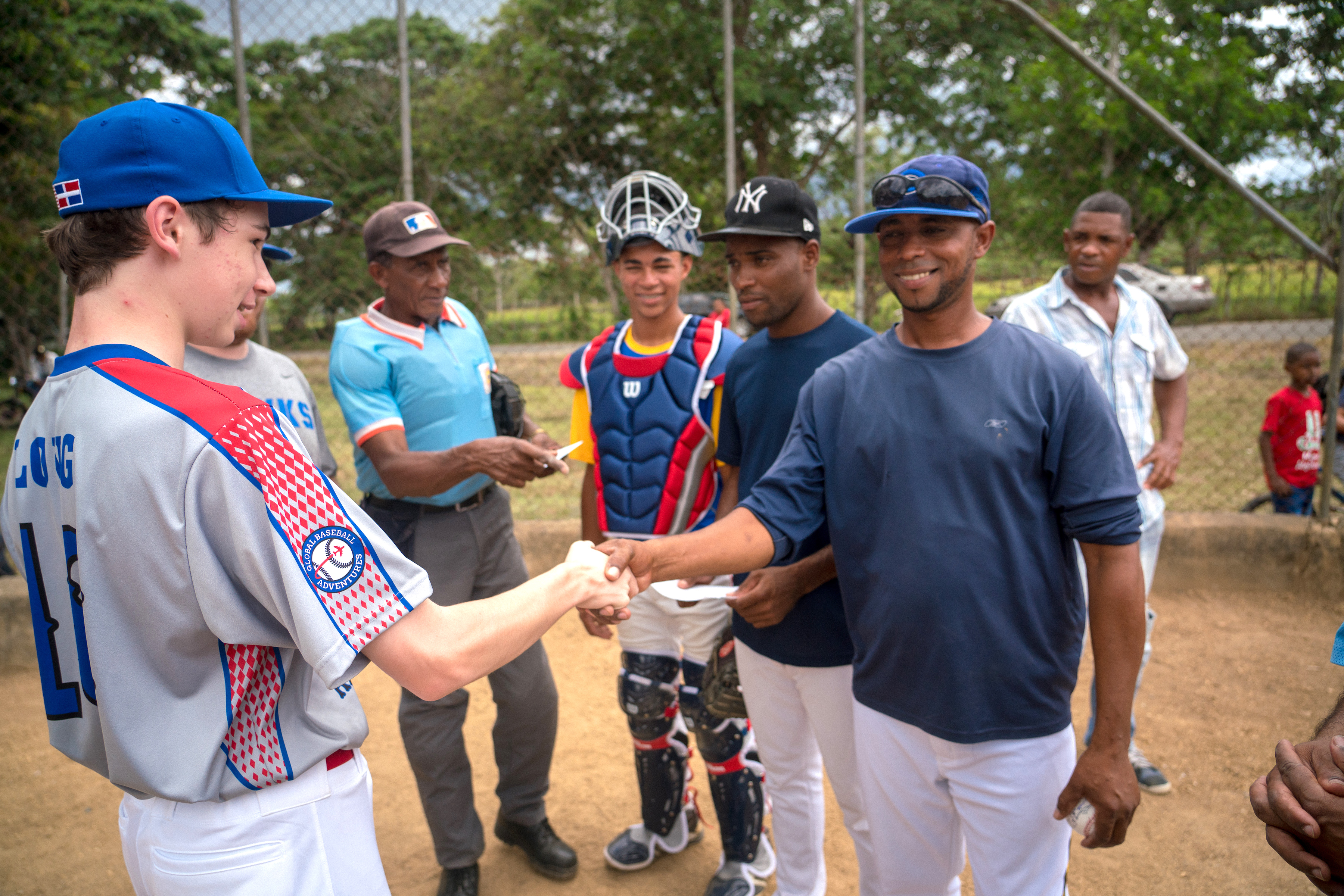 Dominican Republic Baseball Community Service