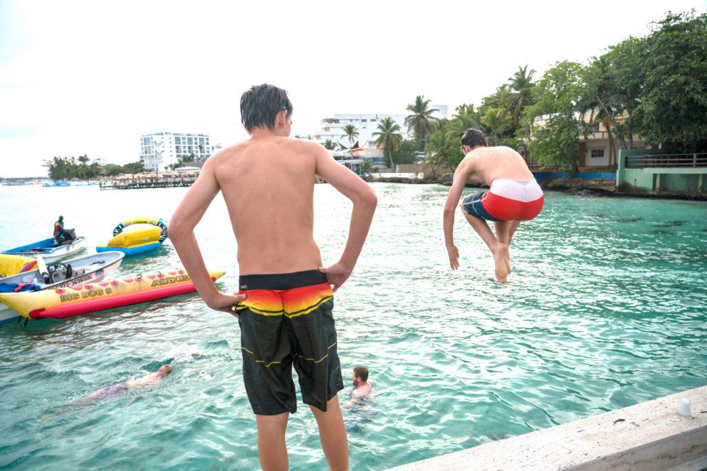 Swim Dominican Republic Baseball