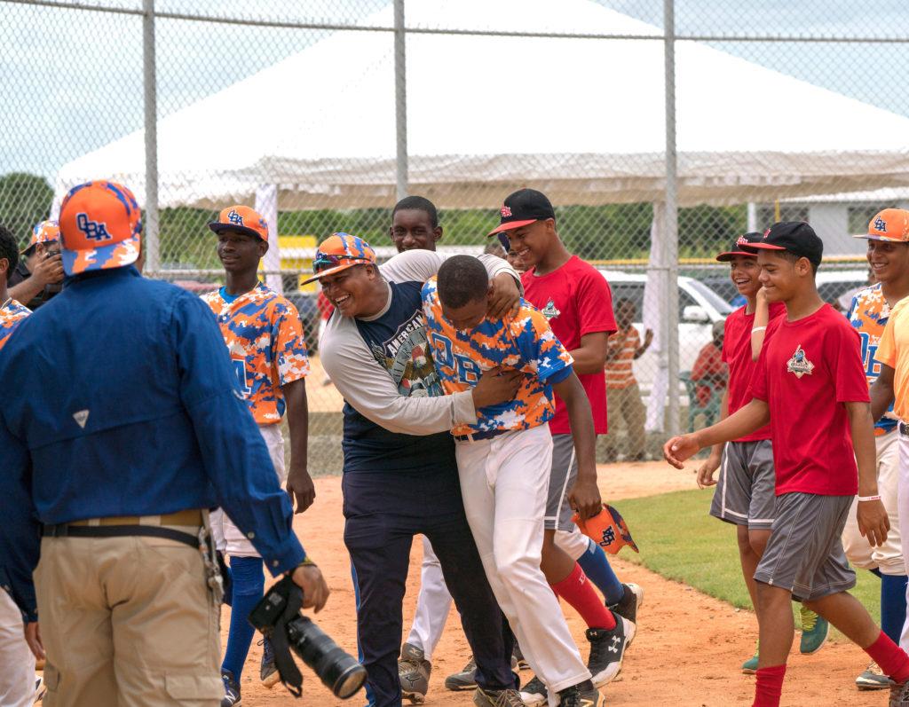 Dominican Republic Baseball Homerun