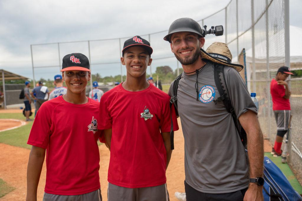 Post Game Baseball Smiles Dominican Repbublic